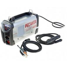 Сварочный инверторный аппарат работающий при пониженном напряжении Ресанта САИ-190ПН + сварочные краги и электроды в подарок!