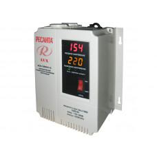 Однофазный цифровой настенный стабилизатор напряжения Ресанта ACH-1000Н/1-Ц