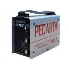 Сварочный инверторный аппарат Ресанта САИ-140 + сварочные краги и электроды в подарок!