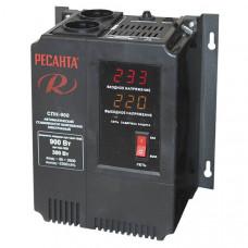 Однофазный цифровой стабилизатор пониженного напряжения Ресанта СПН-900