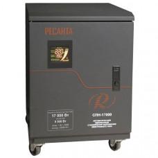 Однофазный цифровой стабилизатор пониженного напряжения Ресанта СПН-17000