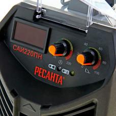Сварочный инверторный аппарат работающий при пониженном напряжении Ресанта САИ-220ПН