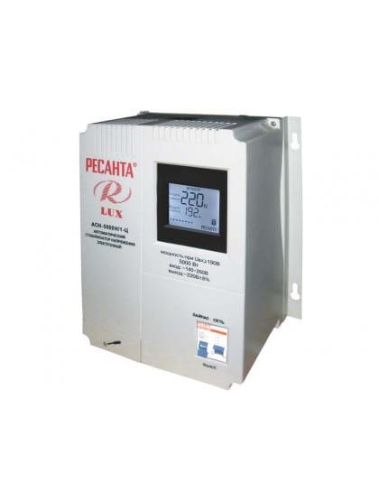 Однофазный цифровой настенный стабилизатор напряжения ACH-5000Н/1-Ц