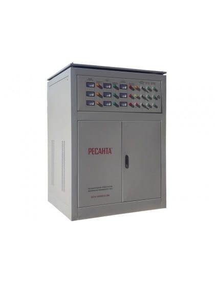Трехфазный стабилизатор электромеханического типа Ресанта ACH-100000/3-ЭМ