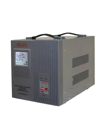 Однофазный стабилизатор напряжения электронного типа АСН-10000/1-Ц