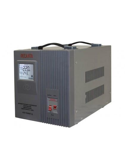 Однофазный стабилизатор напряжения электронного типа Ресанта АСН-12000/1-Ц