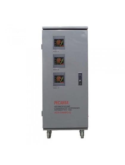 Трехфазный стабилизатор напряжения электронного типа АСН-15000/3-Ц