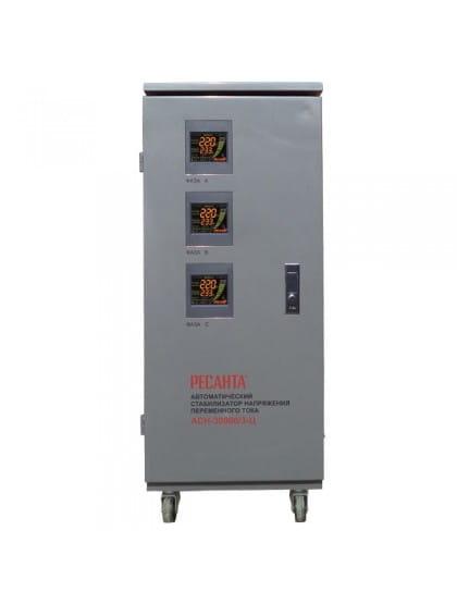 Трехфазный стабилизатор напряжения электронного типа АСН-30000/3-Ц