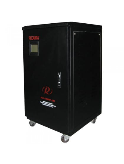 Однофазный стабилизатор напряжения электромеханического типа ACH-30000/1-ЭМ
