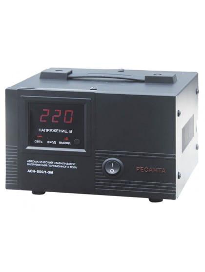 Однофазный стабилизатор напряжения электромеханического типа ACH-500/1-ЭМ