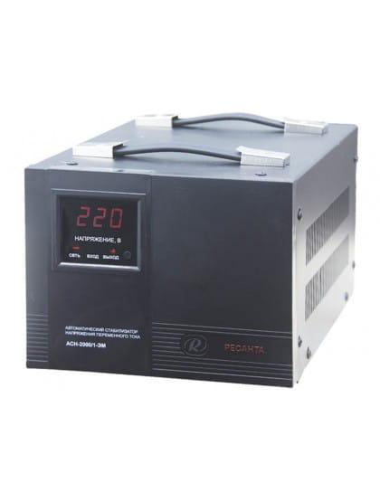Однофазный стабилизатор напряжения электромеханического типа ACH-2000/1-ЭМ