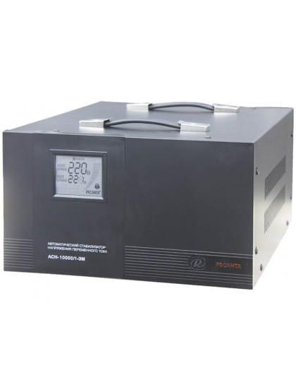 Однофазный стабилизатор напряжения электромеханического типа ACH-10000/1-ЭМ