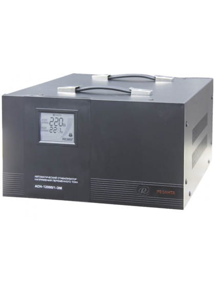 Однофазный стабилизатор напряжения электромеханического типа ACH-12000/1-ЭМ