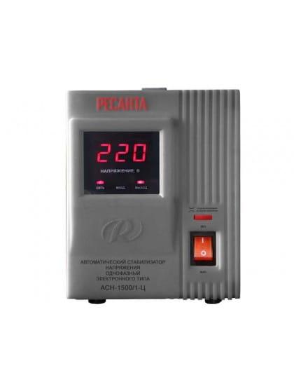 Однофазный стабилизатор напряжения электронного типа Ресанта АСН-1500/1-Ц