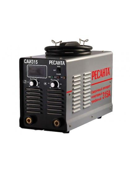 Сварочный инверторный аппарат Ресанта САИ-315