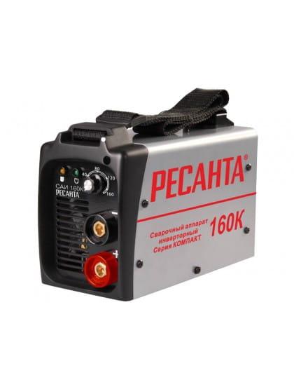 Сварочный инверторный аппарат серии Компакт Ресанта САИ 160К
