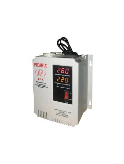 Однофазный цифровой настенный стабилизатор напряжения ACH-2000Н/1-Ц