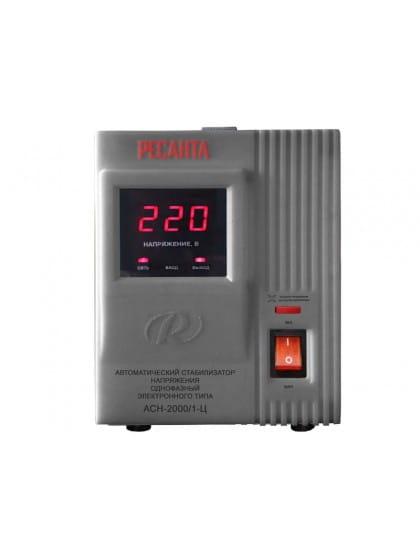 Однофазный стабилизатор напряжения электронного типа Ресанта АСН-2000/1-Ц