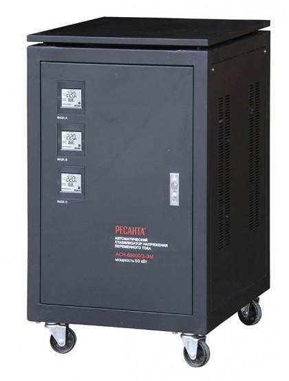 Трехфазный стабилизатор электромеханического типа Ресанта ACH-60000/3-ЭМ