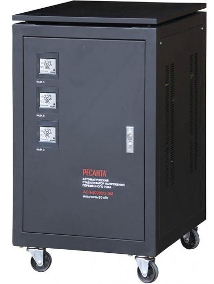 Трехфазный стабилизатор электромеханического типа Ресанта ACH-80000/3-ЭМ