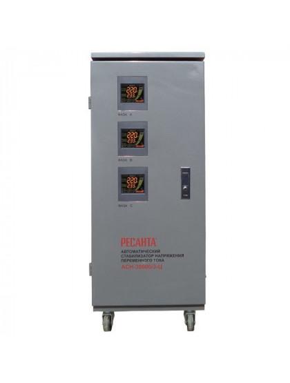 Трехфазный стабилизатор напряжения электронного типа Ресанта АСН-30000/3-Ц