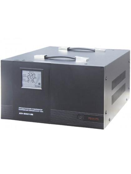 Однофазный стабилизатор напряжения электромеханического типа Ресанта ACH-8000/1-ЭМ