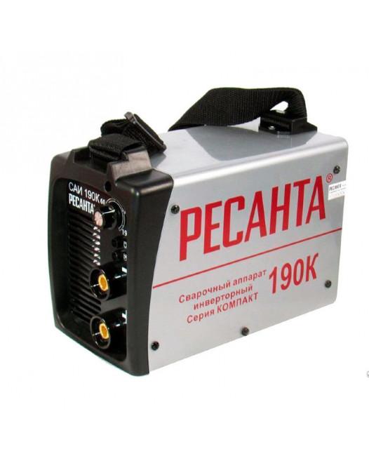 Сварочный инверторный аппарат серии Компакт Ресанта САИ-190К