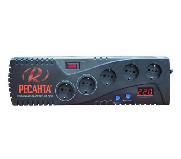 Автоматический стабилизатор напряжения Ресанта С1500