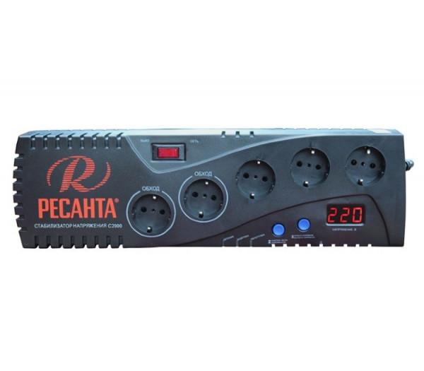 Автоматический стабилизатор напряжения Ресанта С2000