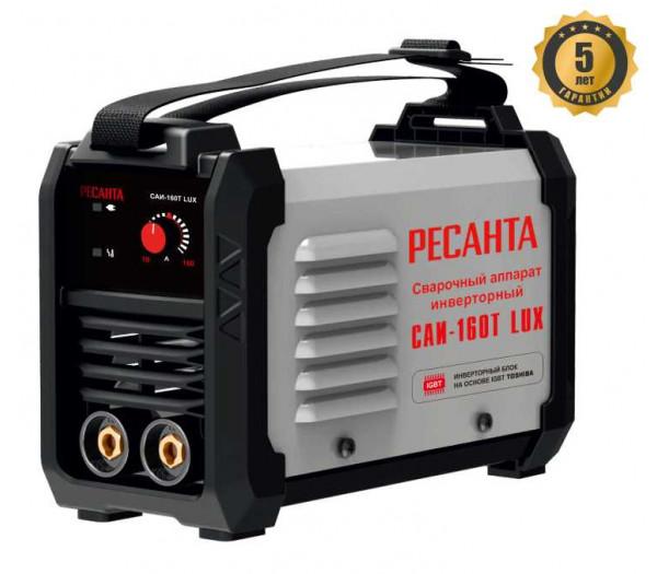 Сварочный инверторный аппарат Ресанта САИ-160Т LUX