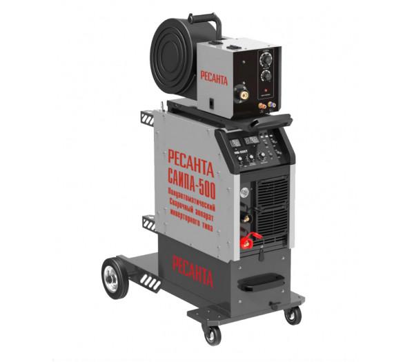 Полуавтоматический сварочный аппарат инверторного типа Ресанта САИПА-500