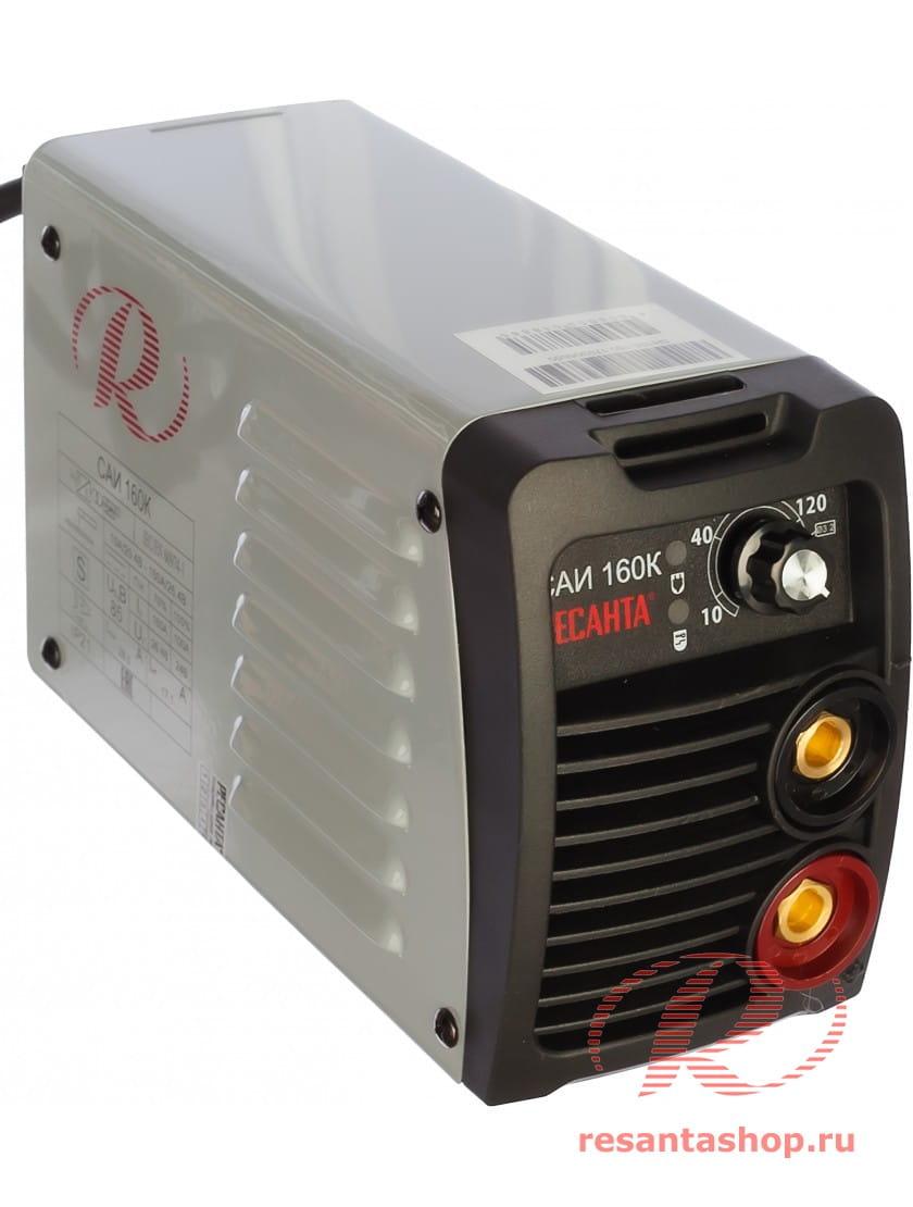 Сварочный инверторный аппарат серии Компакт Ресанта САИ 160К+ сварочные краги и электроды в подарок!