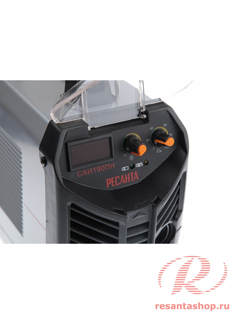Сварочный инверторный аппарат работающий при пониженном напряжении Ресанта РЕСАНТА САИ-190ПН