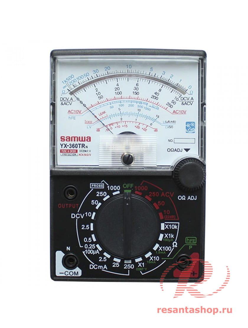 Мультиметр Ресанта YX360TRN