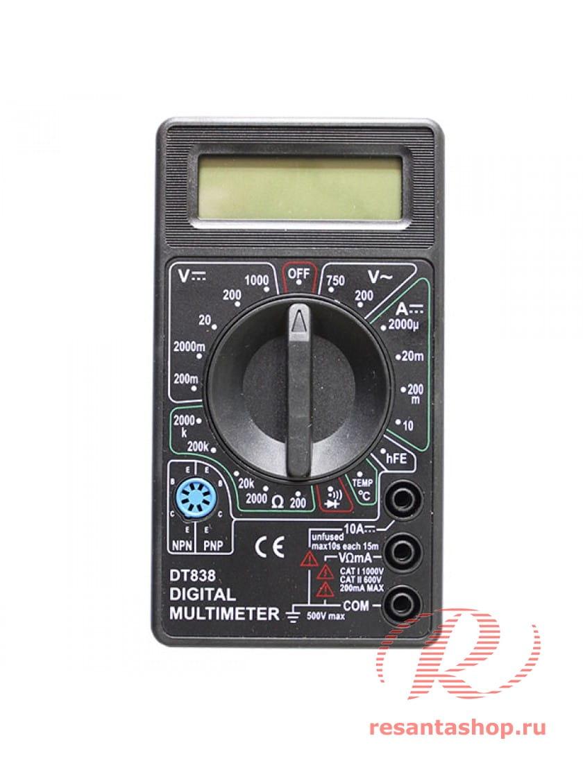 Мультиметр DT838