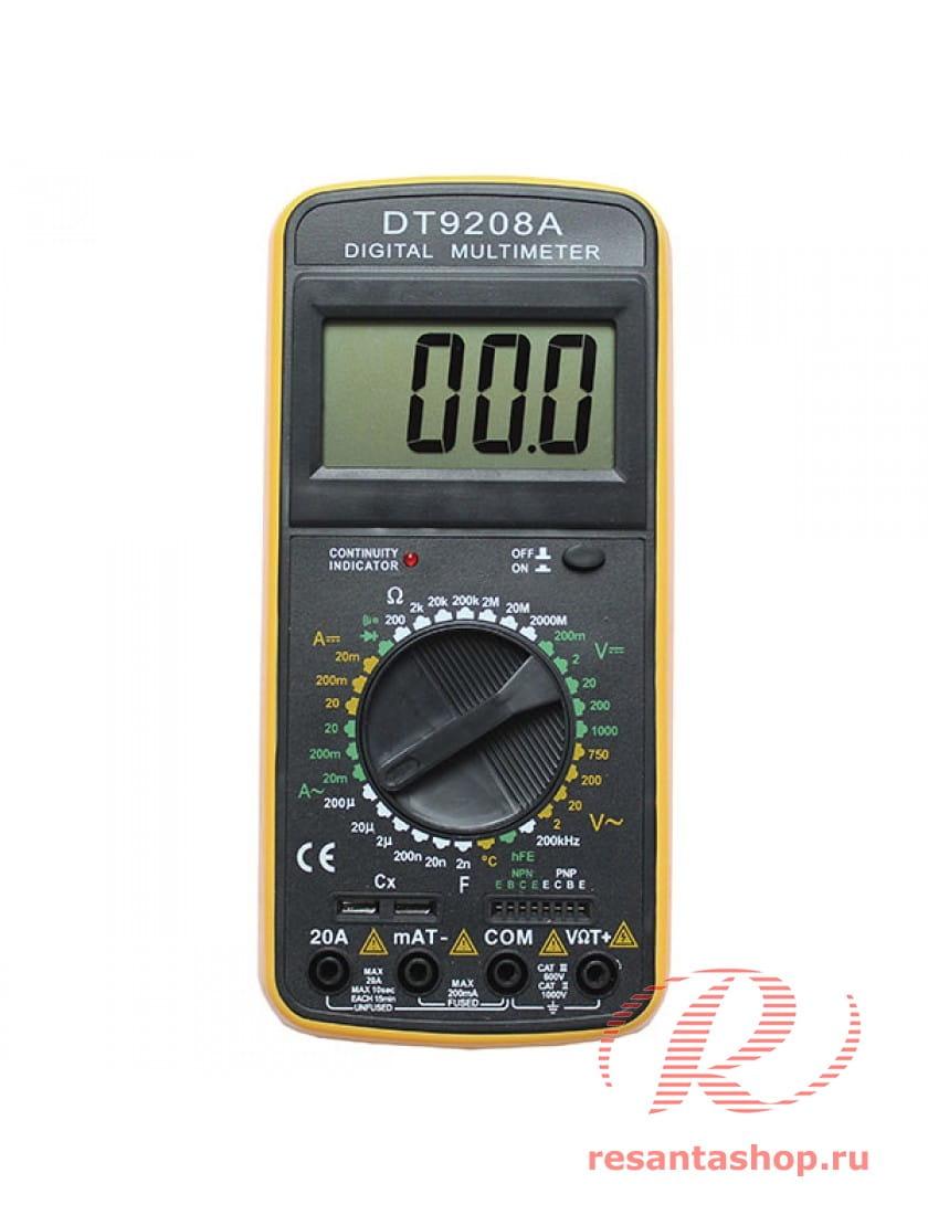 Мультиметр Ресанта DT9208A