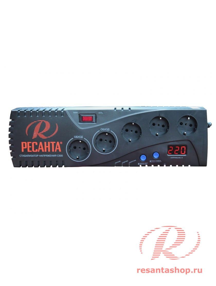 Автоматический стабилизатор напряжения Ресанта С500