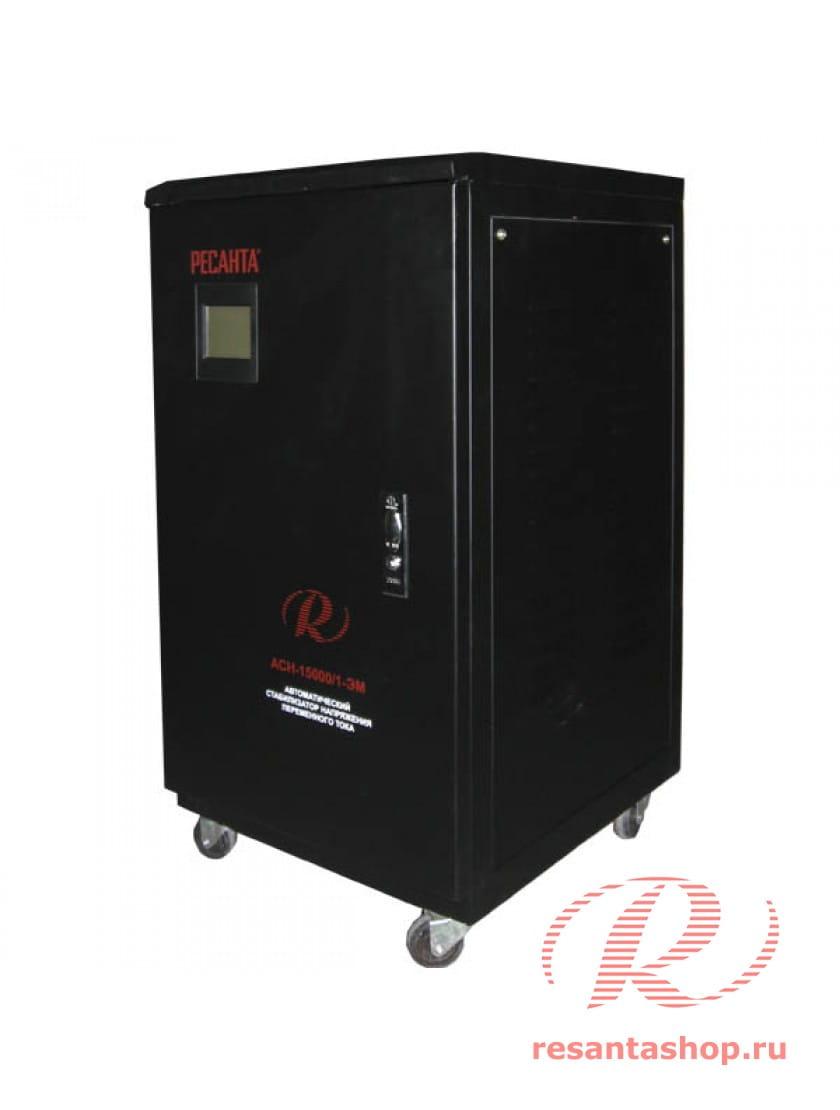 Однофазный стабилизатор напряжения электромеханического типа РЕСАНТА ACH-15000/1-ЭМ