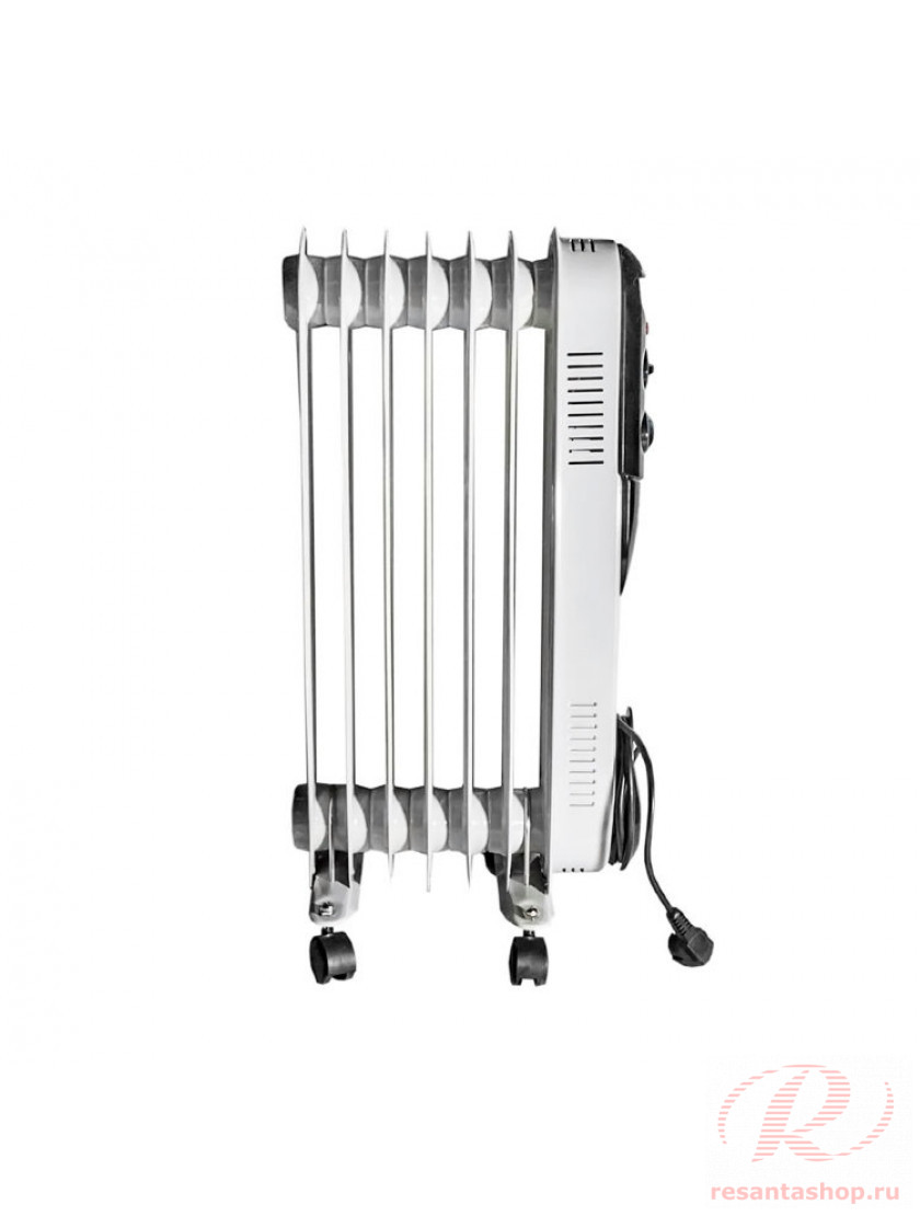 Масляный радиатор напольный Ресанта ОМПТ-12Н
