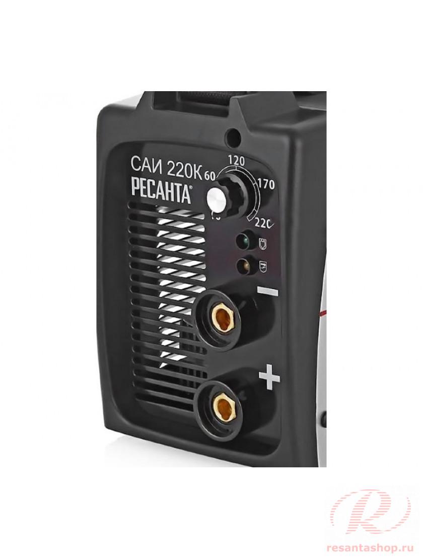 Сварочный инверторный аппарат серии Компакт Ресанта САИ-220К
